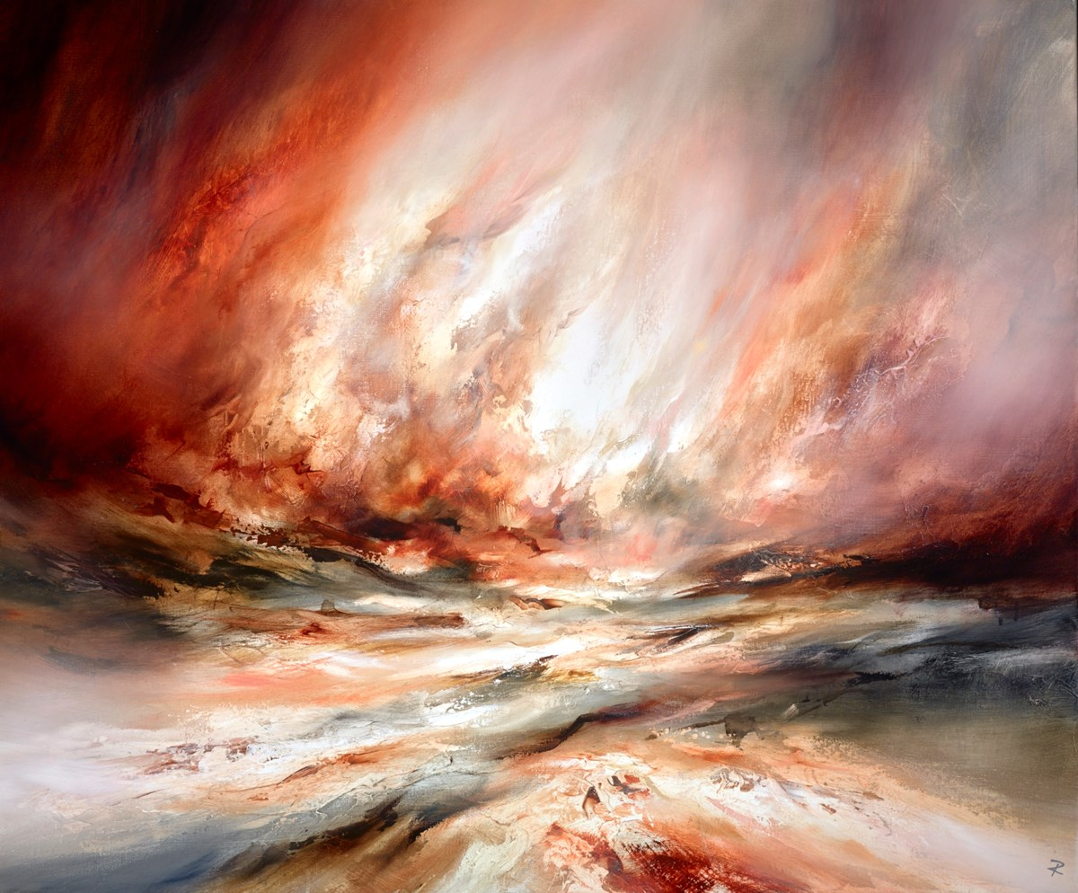 Earth, Wind and Fire by chris and steve rocks -  sized 47x39 inches. Available from Whitewall Galleries